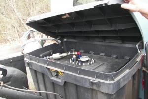 TriumphTR6 barn find. Left hand drive.For total restoration.