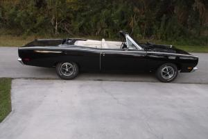 1969 PLYMOUTH ROAD RUNNER CONVERTIBLE -HOLY GRAIL OF MOPARS- RARE OPTIONS