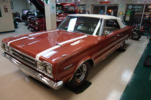 1967 PLYMOUTH GTX CONVERTIBLE 440 NUMBER MATCHING ALL ORIGIONAL