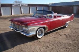 1960 plymout sport fury convertible
