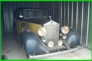 1936 Rolls Royce 25/30 Classic NORTH CAROLINA