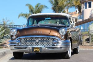 1955 BUICK SPECIAL 2 DOOR POST MAJESTIC RESTORED CALIFORNIA ORIGINAL CAR