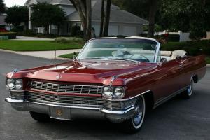 DESIRABLE RUST FREE SURVIVOR -1964 Cadillac Eldorado Convertible - 54K MI