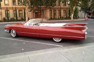 1960 Cadillac Convertible 62 Series 1 Owner California Car Rust Free  Solid Car