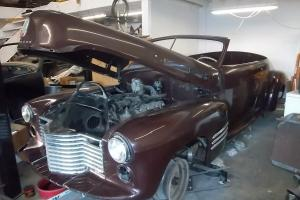 1941 cadillac 2 door conv framed off great condition needs to be finished