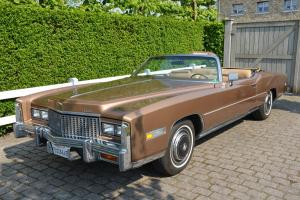 Superb and original 1976 Cadillac Eldorado Convertible --Priced to sell!