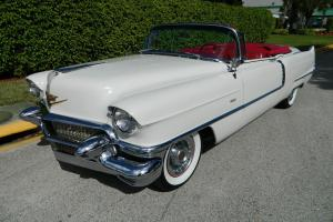1956 CADILLAC SERIES 62 CONVERTIBLE VORTEC ENGINE/TRANSMISSION VINTAGE A/C AIR
