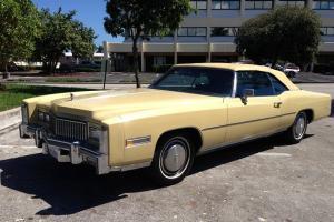 1975 Eldorado Convertible - Special Order with Parade Boot  Runs Like New