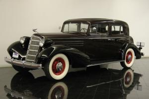 1935 Cadillac 355E Series 20 Town Sedan 353ci V8 3 Speed Restored CCCA Classic Photo