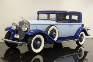 1931 Cadillac 355A Town Sedan 5 Passenger 353ci V8 3 Speed Full CCCA Classic