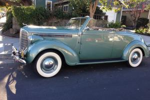 1938 Dodge Rumble Seat Convertible Coupe