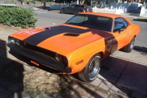 Dodge Challenger 1970 R/T 440 U Code A33 Track Pac Bumble Bee Hemi Orange 4speed Photo