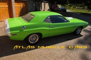 """1970 Challenger R/T """"V code"""" six pack #'s matching engine and trans"""