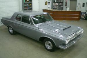 1963 Dodge 330 2dr Post Sedan Max Wedge replica