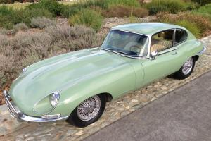1968 Jaguar E-type Series 1.5 2+2 Coupe. ALL ORIGINAL. two-owners. 52k miles.