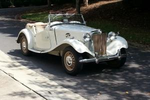 '53 MG TD Roadster Classic-fully restored