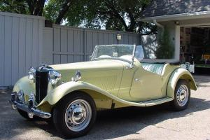 MG-TD2 1953 995 mi on FRAME OFF RESTORED, GORGEOUS, CORRECT, ONE OF A KIND, WOW Photo