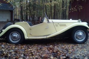 1954 MG-TF Right-hand drive