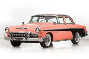 1955 DeSoto Fireflite 4-Door Sedan; 291cu.in. V8 Hemi 200HP Pink/Black; Restored Photo
