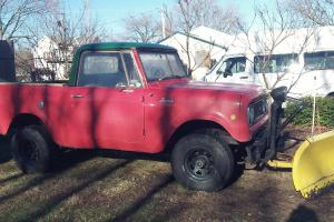 1970 International scout 4x4 snow plow rag hard top rat rod roll bar INSPECTED