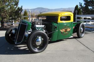 1936 International Harvestor Traditional Style Hot Rod Rat Rod Pickup Truck SCTA