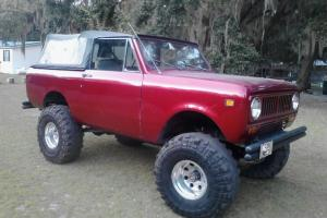 1978 International Harvester Scout 2 II 4x4 345 V8 4 spd RUNS GREAT restored