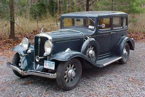 1932 Studebaker Dictator 8 Regal 4DR Sedan