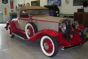 1931 Studebaker President 4 Seasons Roadster (Speedway).