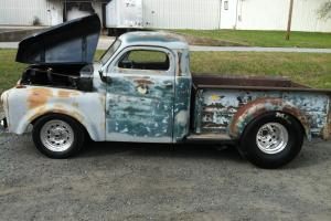 1948 Dodge Pickup Truck Rat Rod 355 Engine Custom Frame Race Truck Racing Wheels
