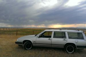 1988 Volvo 765, Loaded, Grey, Clean straight body. Mustang 5.0 H.O. Conversion!