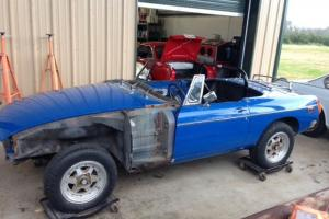 1976 MG MGB Project