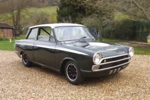 Ford Lotus Cortina MK1 Race Car 1965 FIA HTP Appendix K Papers With Bar Code Photo