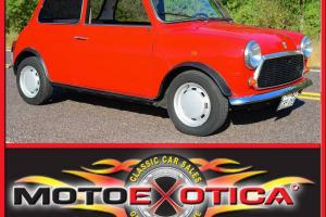 RARE LEYLAND MINI SERIES V RED WITH BROWN AND GRAY INTERIOR