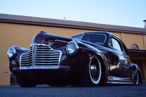 Bagged 1941 Buick Fastback