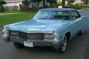 AMAZING ORIGINAL LOW MILE SURVIVOR -1966 Cadillac Sedan de Ville -55K ORIG MI