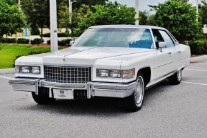 Stunning original mint 1976 Cadillac Sedan Deville just 50,602 miles must see