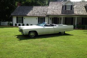 1967 Cadillac Convt. sedan deville