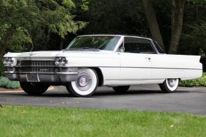 1963 CADILLAC COUPE DE VILLE, CALIFORNIA CAR, ON AIR SUSPENSION