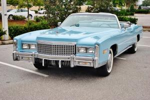 The best to be found 75 Cadillac Eldorado Convertible just 27,978 miles pristine