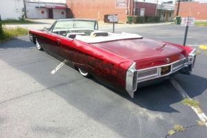 1965 custom Cadillac Coupe DeVille Convertable
