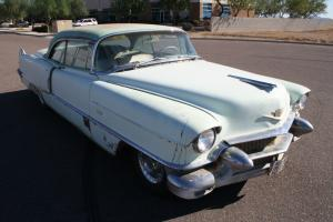 1956 Cadillac 2-Door Numbers Matching 365 Runs and Drives, See Video NO RUST!!!
