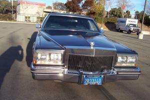 A rare low mileage Cadillac Fleetwood Brougham Limousine