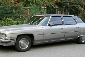 Classic collectors 1973 Cadillac Fleetwood Brougham