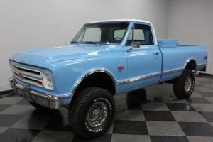 K10 4X4, TOTAL RESTO, LOOK UNDERNEATH, GM 454 CRATE, R134 AC, BRAND NEW TRUCK!
