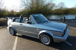 VW GOLF MK I CLIPPER CABRIOLET 1989 91,000 MLS FSH FROM NEW STUNNING  Photo