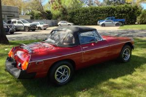 1978 MGB .MG..CONVERTIBLE..10K ORIGINAL MILES ..NO RESERVE AUCTION!!  RARE