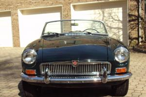 Beautiful 1967 MGB Mark II Roadster Restored!!