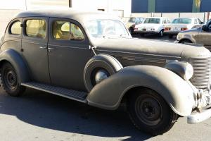 1938 CHRYSLER IMPERIAL SEDAN--GARAGE STORED SINCE 1956