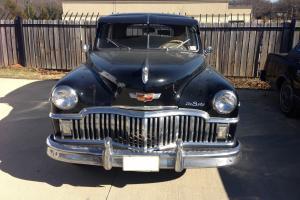 1949 Desoto Custom 4 Door Barn Find-236ci-3 Speed-49k Miles-Survivor Car
