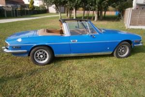 Triumph Stag – 1978 'S' Reg - Tahiti blue